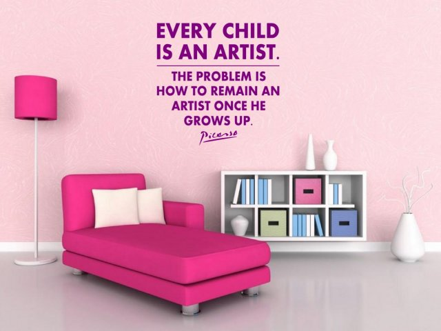 Jc Design Every Child Is An Artist The Problem Is How To