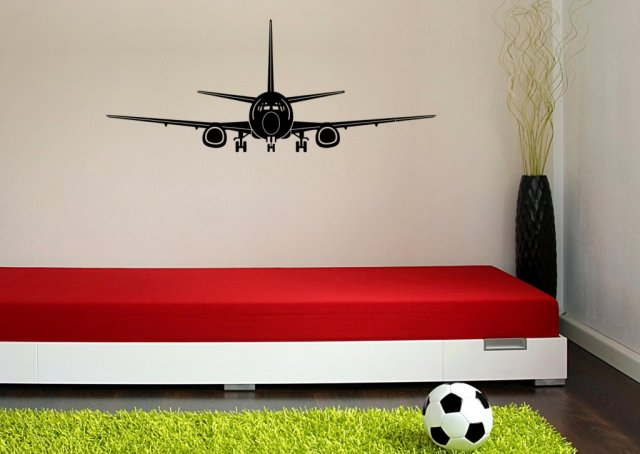 Airplane Kids And Child S Room Wall Sticker Wall