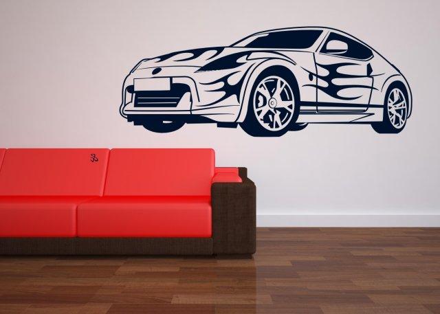 Sport Car   Kids / Teenager Room Wall Sticker