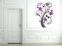 Flower Ornate Wall Sticker