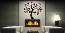 Love Tree Vinyl Decoration