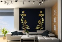 Flower Duo Amazing Double Wall Decor
