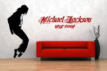 Michael Jackson Dance Silhouette Giant Wall Decor