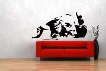 Banksy Style Cocaine Copper Art Wall Decor