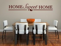' Home Sweet Home ' Large Vinyl Wall Quote