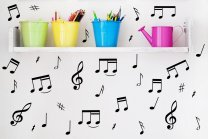 32 Music Notes - Car / Laptop / Wall / Fridge Vinyl Stickers