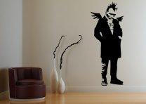 Banksy Style Punk Angel - Huge Art Decoration