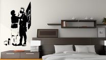 Banksy Punk's Mum - Large Art Decor