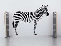 Africa Safari Series - ZEBRA - Real Size ZEBRA Wall Sticker
