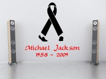 Michael Jackson Tribute Logo Wall Decor