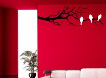 Three Birds On The Branch Decal