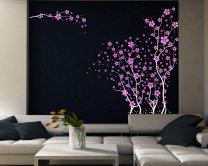 Japanese Cherry Blossoms - Beautiful Large Wall Decoration