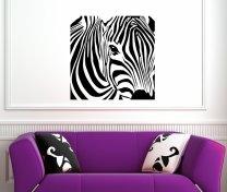 Lovely Zebra - Vinyl Wall Sticker