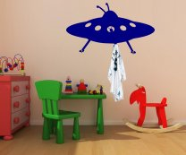 Unique UFO WALL DECOR HOOKS - Kids room furniture
