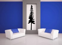 Perfect Pine - Beautiful Tree Wall Decal