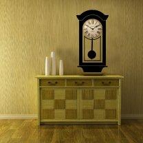 Stylish Clock Background - Wall Decor