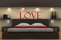 All You Need Is LOVE! Smart Wall Sticker