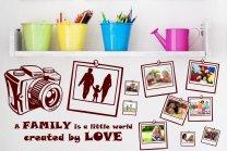 3 Styles LOVE, FRIENDSHIP, FAMILY