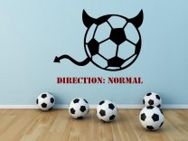 Football-Devil-Decoration-on-the-Wall