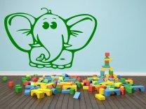 Funny-Elephant-Wall-Sticker