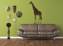 Wild Africa - Giraffe Wall Decal
