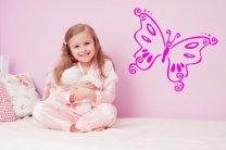 Swirly-Butterfly-Wall-Decal