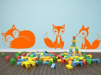 Family-Of-Foxes-Wall-Sticker
