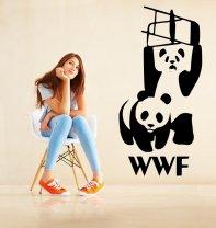 Banksy WWF Panda Sticker