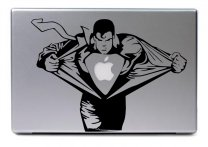Laptop sticker - SUPERMAN HERO