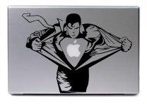 Laptop-sticker-SUPERMAN-HERO
