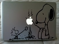 Laptop Sticker Snoopy Dog
