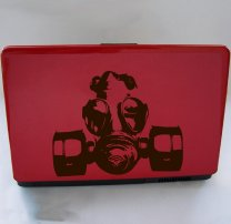 Laptop Sticker - Gas Mask