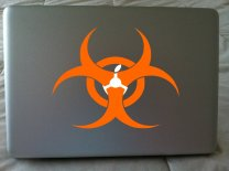 Laptop Sticker - Biohazard