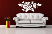 Fabulous Roses Beautiful Wall Sticker