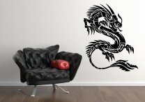 Chinese Dragon Beautiful Wall Decal