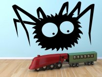 Funny-Spider-Kids-Room-Wall-Sticker