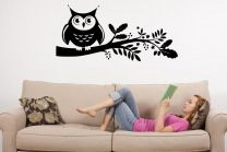 Mysterious-Owl-Beautiful-Wall-Sticker