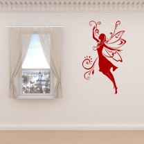 Charming-Elf-Sticker-On-The-Wall