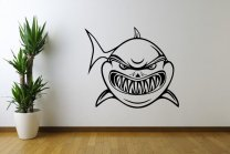 Frightening-Shark-Wall-Decal