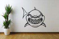 Frightening-Shark-Wall-Decal