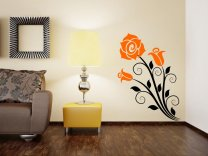 Fragile Roses Beautiful Wall Sticker
