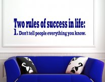 Two-rules-of-success-in-life