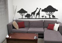 Animals In The Wild Decal