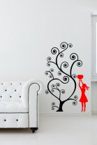 Love Tree Beautiful Wall Stickers