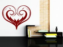 Beauty Heart - Living Room / Bedroom / Kids Room Sticker