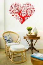 Cute Heart Beautiful Wall Pattern