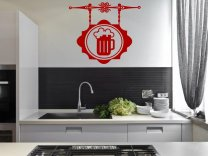 Beer - Kitchen Dining Room Pub Wall Decoration