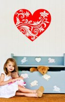 Gorgeous Heart Beautiful Sticker