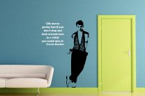 Ferris Bueller quote Wall Sticker