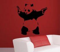 Panda Waving Hand Guns